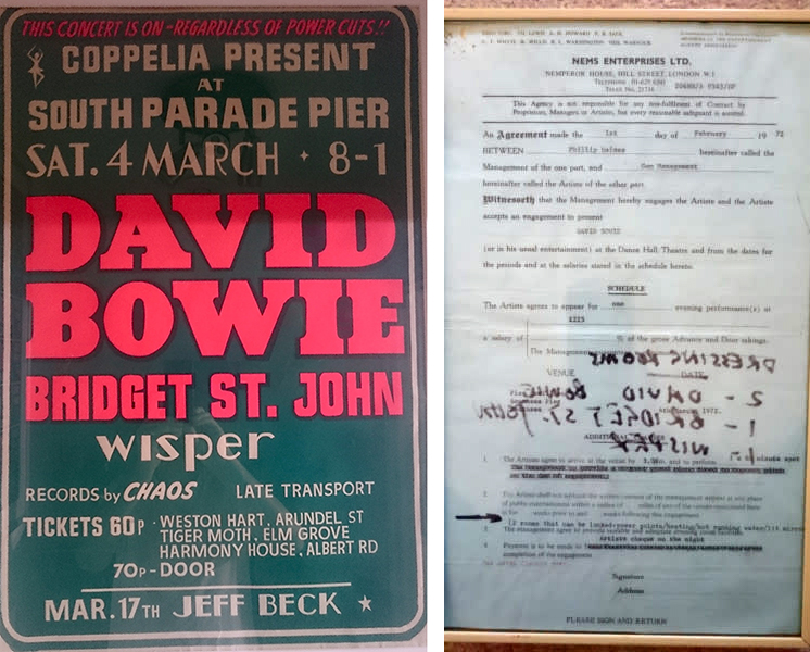 David Bowie South Parade Pier 1972