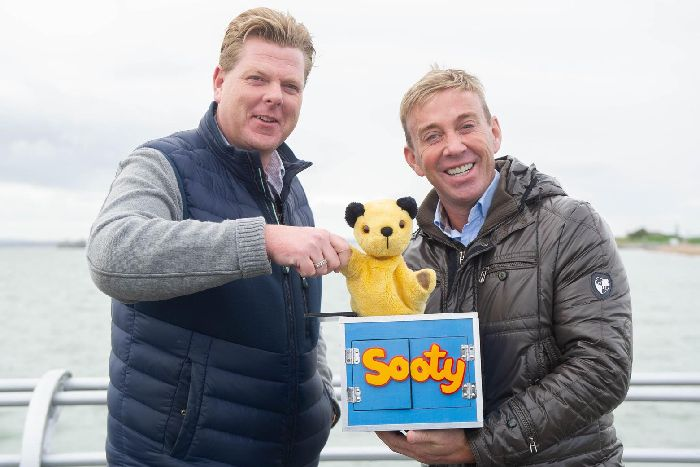 Sooty signs contract for permanent funfair on Southsea's South Parade Pier