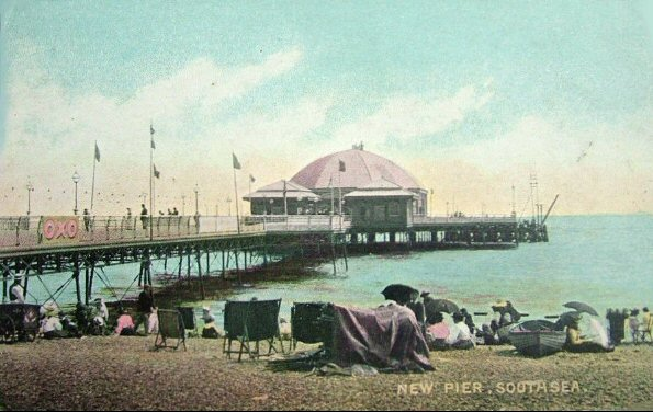 The original South Parade Pier