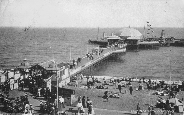 South Parade Pier opened in 1879
